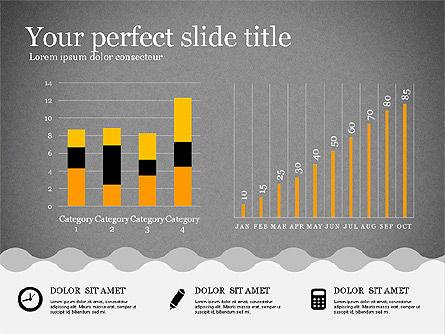 Presentation Template in Flat Design, Slide 9, 02630, Presentation Templates — PoweredTemplate.com