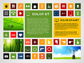 Icons: Colorful Flat Style Presentation with Icons #02635