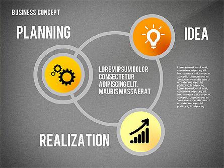 Key to Success Presentation Concept, Slide 12, 02636, Shapes — PoweredTemplate.com