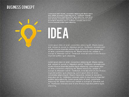 Key to Success Presentation Concept, Slide 13, 02636, Shapes — PoweredTemplate.com