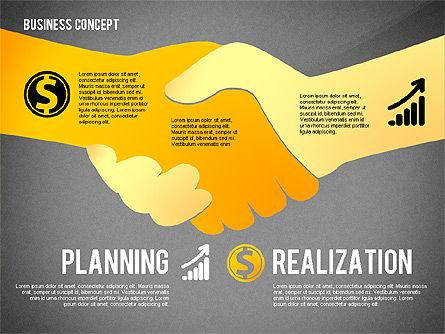 Key to Success Presentation Concept, Slide 14, 02636, Shapes — PoweredTemplate.com