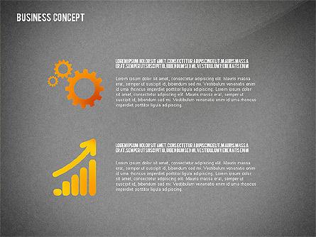 Key to Success Presentation Concept, Slide 15, 02636, Shapes — PoweredTemplate.com
