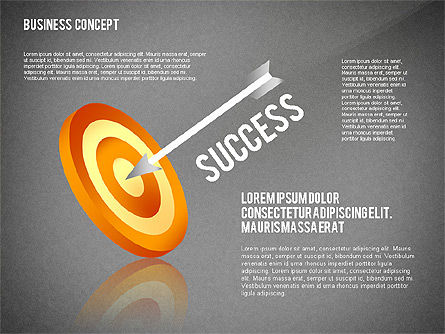 Key to Success Presentation Concept, Slide 16, 02636, Shapes — PoweredTemplate.com