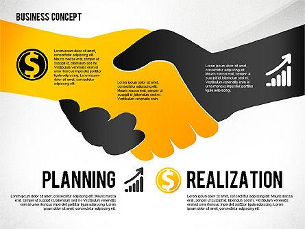 Key to Success Presentation Concept, Slide 6, 02636, Shapes — PoweredTemplate.com