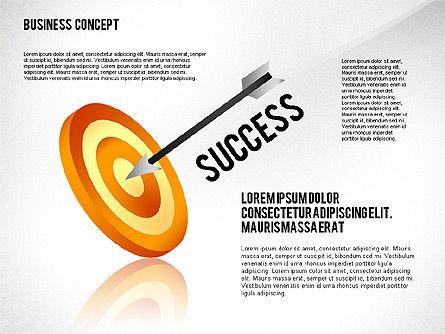 Key to Success Presentation Concept, Slide 8, 02636, Shapes — PoweredTemplate.com