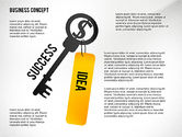 Shapes: Key to Success Presentation Concept #02636