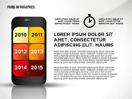 Smartphone Presentation Template, Slide 3, 02637, Presentation Templates — PoweredTemplate.com