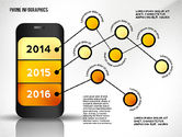 Presentation Templates: Smartphone Presentation Template #02637