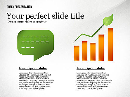 Green Presentation Template, Slide 4, 02640, Presentation Templates — PoweredTemplate.com
