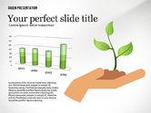 Presentation Templates: Green Presentation Template #02640