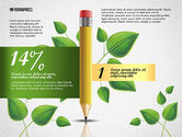 Stage Diagrams: Options with Pencil and Green Leaves #02641