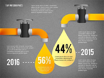 Water Efficiency Presentation Template, Slide 11, 02642, Presentation Templates — PoweredTemplate.com