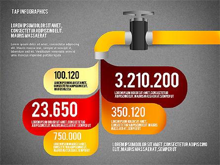 Water Efficiency Presentation Template, Slide 13, 02642, Presentation Templates — PoweredTemplate.com