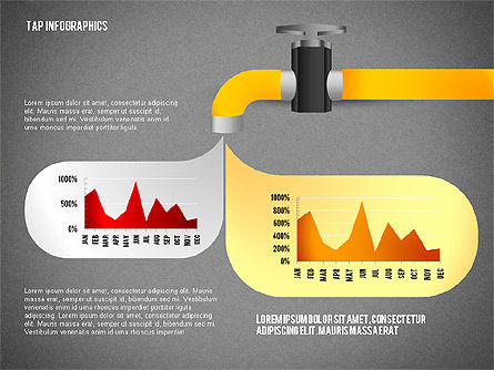Water Efficiency Presentation Template, Slide 15, 02642, Presentation Templates — PoweredTemplate.com