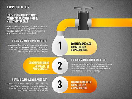 Water Efficiency Presentation Template, Slide 16, 02642, Presentation Templates — PoweredTemplate.com