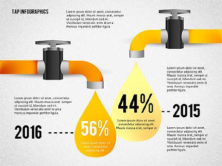 Water Efficiency Presentation Template, Slide 3, 02642, Presentation Templates — PoweredTemplate.com