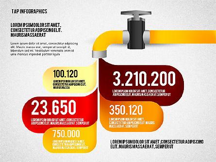 Water Efficiency Presentation Template, Slide 5, 02642, Presentation Templates — PoweredTemplate.com