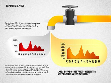 Water Efficiency Presentation Template, Slide 7, 02642, Presentation Templates — PoweredTemplate.com