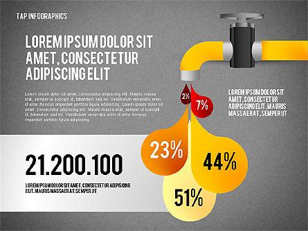 Water Efficiency Presentation Template, Slide 9, 02642, Presentation Templates — PoweredTemplate.com