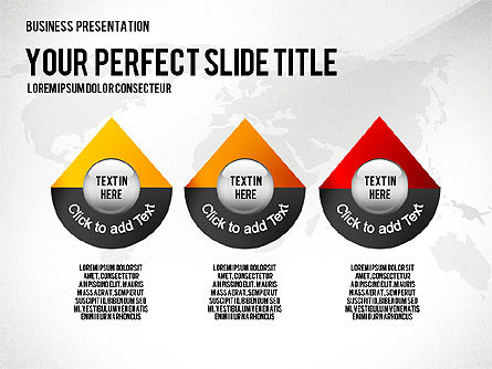 Professional Presentation Template, 02644, Presentation Templates — PoweredTemplate.com