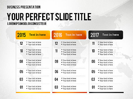 Professional Presentation Template, Slide 2, 02644, Presentation Templates — PoweredTemplate.com