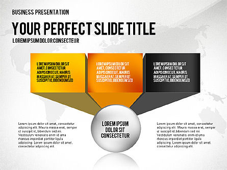 Professional Presentation Template, Slide 3, 02644, Presentation Templates — PoweredTemplate.com