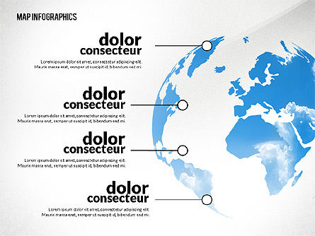 Presentation with Continents Toolbox, Slide 4, 02649, Presentation Templates — PoweredTemplate.com