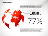 Presentation Templates: Presentation with Continents Toolbox #02649