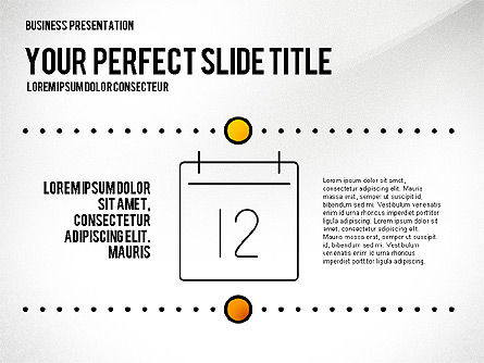 Presentation Templates: Presentation Created in Elegant Style #02651