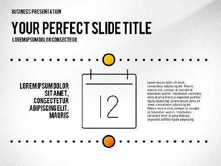 Presentation Templates: Presentatie gemaakt in elegante stijl #02651