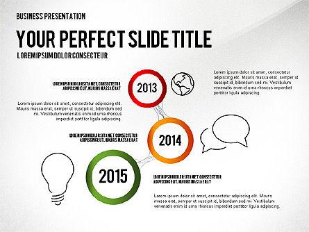 Presentation Created in Elegant Style, Slide 3, 02651, Presentation Templates — PoweredTemplate.com