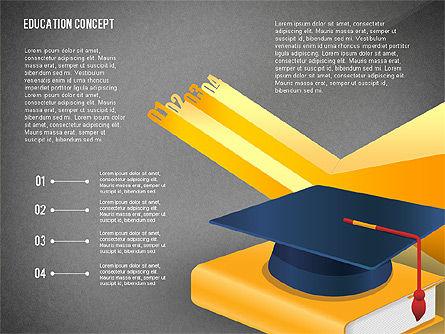 Education Presentation Toolbox, Slide 10, 02652, Education Charts and Diagrams — PoweredTemplate.com