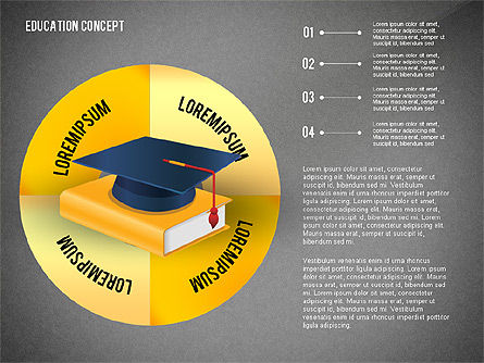 Education Presentation Toolbox, Slide 11, 02652, Education Charts and Diagrams — PoweredTemplate.com