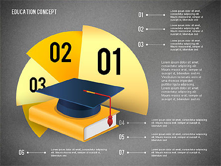 Education Presentation Toolbox, Slide 12, 02652, Education Charts and Diagrams — PoweredTemplate.com