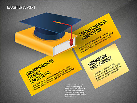 Education Presentation Toolbox, Slide 13, 02652, Education Charts and Diagrams — PoweredTemplate.com