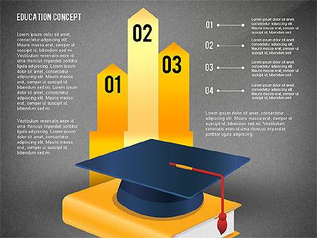 Education Presentation Toolbox, Slide 14, 02652, Education Charts and Diagrams — PoweredTemplate.com