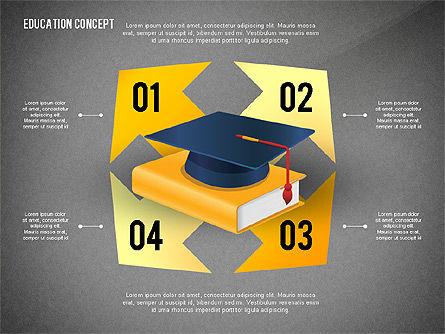 Education Presentation Toolbox, Slide 16, 02652, Education Charts and Diagrams — PoweredTemplate.com