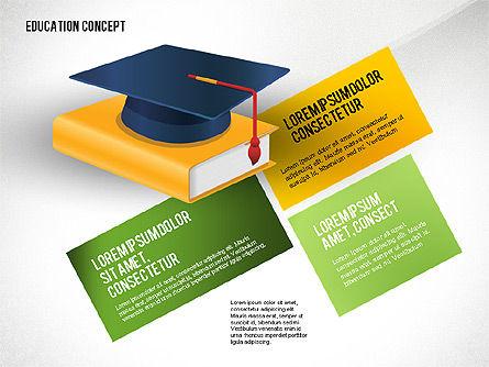 Education Presentation Toolbox, Slide 5, 02652, Education Charts and Diagrams — PoweredTemplate.com