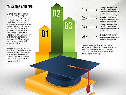 Education Presentation Toolbox, Slide 6, 02652, Education Charts and Diagrams — PoweredTemplate.com