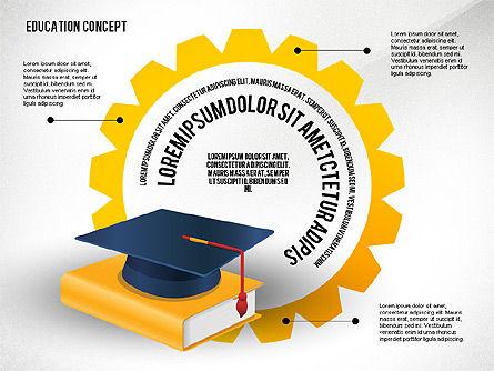 Education Presentation Toolbox, Slide 7, 02652, Education Charts and Diagrams — PoweredTemplate.com