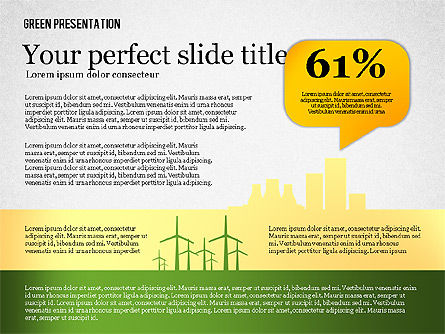 Green Presentation, Slide 2, 02653, Presentation Templates — PoweredTemplate.com