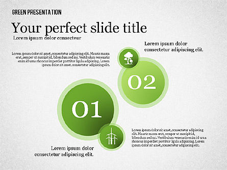 Green Presentation, Slide 4, 02653, Presentation Templates — PoweredTemplate.com