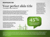 Presentation Templates: Green Presentation #02653