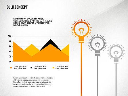 Presentation with Bulb, Slide 3, 02654, Presentation Templates — PoweredTemplate.com