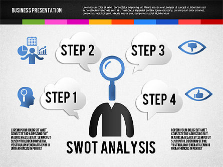 Presentation Templates: Presentation with Silhouettes and Shapes #02658