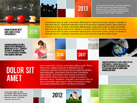 Education Modern Presentation Template, Slide 2, 02661, Education Charts and Diagrams — PoweredTemplate.com