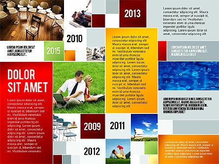 Education Modern Presentation Template, Slide 6, 02661, Education Charts and Diagrams — PoweredTemplate.com
