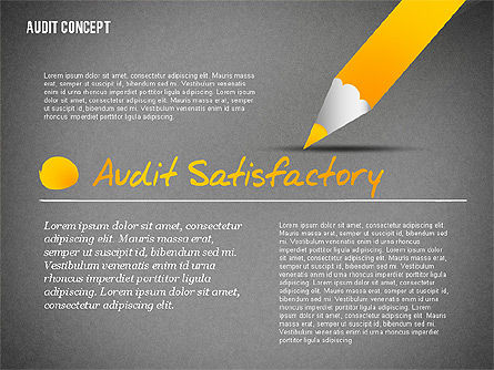 Audit Presentation Concept, Slide 14, 02665, Presentation Templates — PoweredTemplate.com