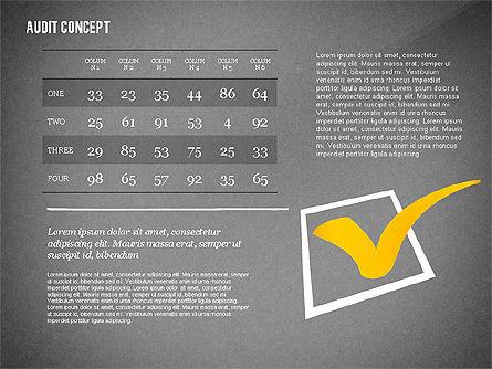 Audit Presentation Concept, Slide 16, 02665, Presentation Templates — PoweredTemplate.com