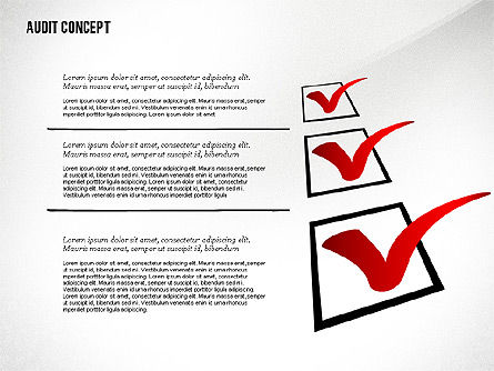 Audit Presentation Concept, Slide 3, 02665, Presentation Templates — PoweredTemplate.com